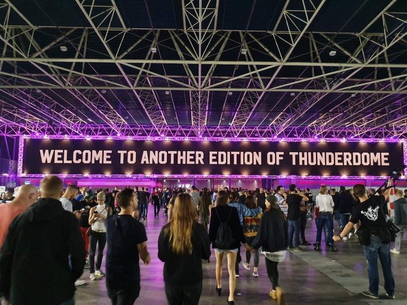 Gabbers van vroeger en nu; Film Thunderdome Never Dies in première