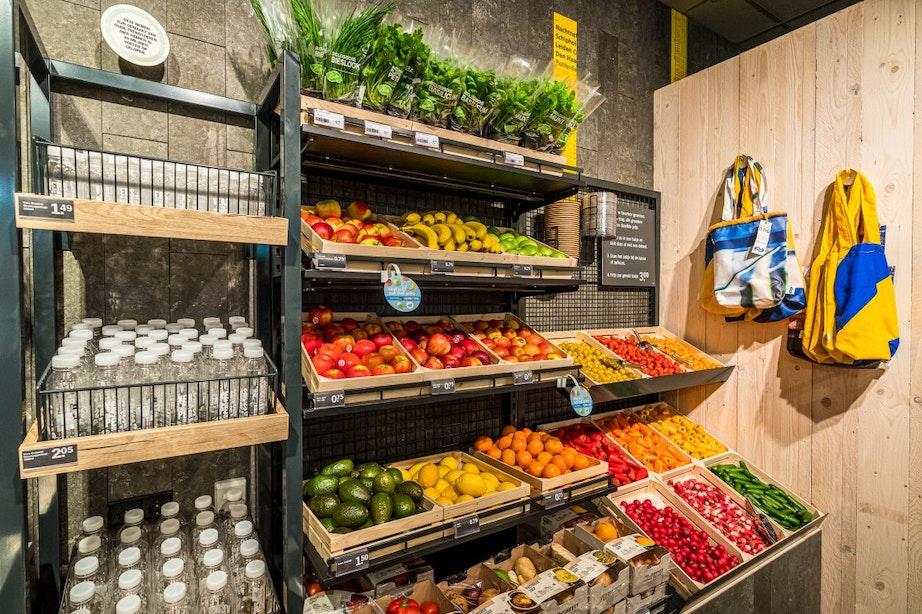 NS en Albert Heijn openen duurzame proeftuin op station Utrecht Centraal