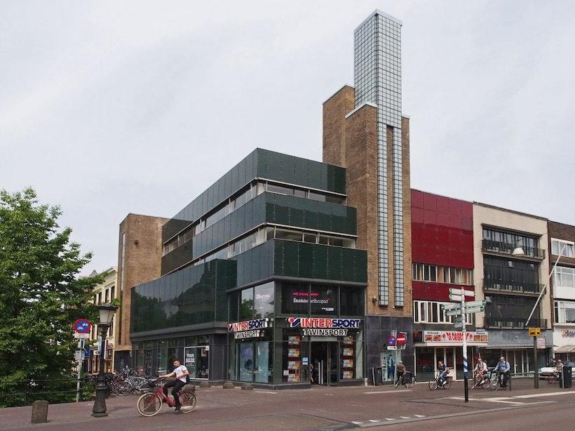Is Utrecht klaar voor een rooftop-restaurant? Plan voor dak Intersport-gebouw