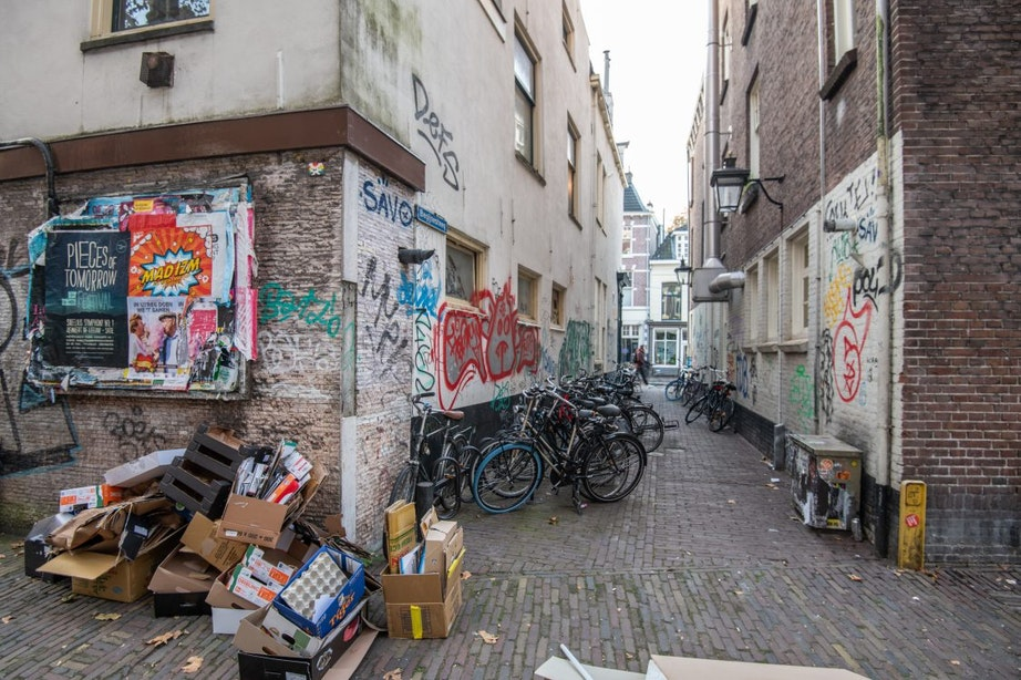 Lelijkste steeg van Utrecht krijgt opknapbeurt