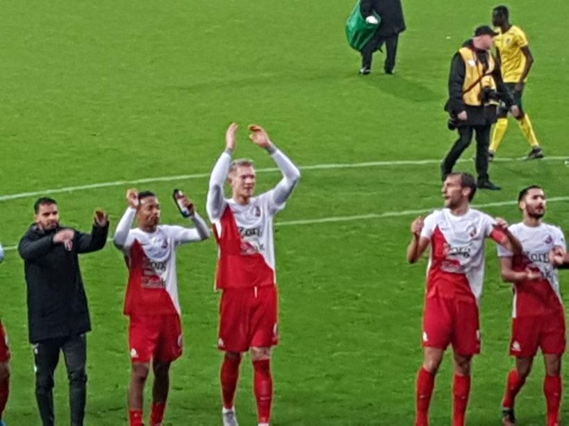 FC Utrecht staat waar het kan eindigen
