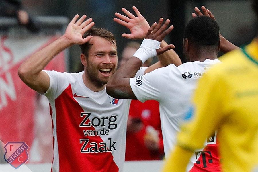 FC Utrecht vierde na galavoorstelling tegen Fortuna Sittard