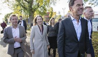 Rutte bezoekt Merwedekanaalzone: 'Het is een bijzonder project'