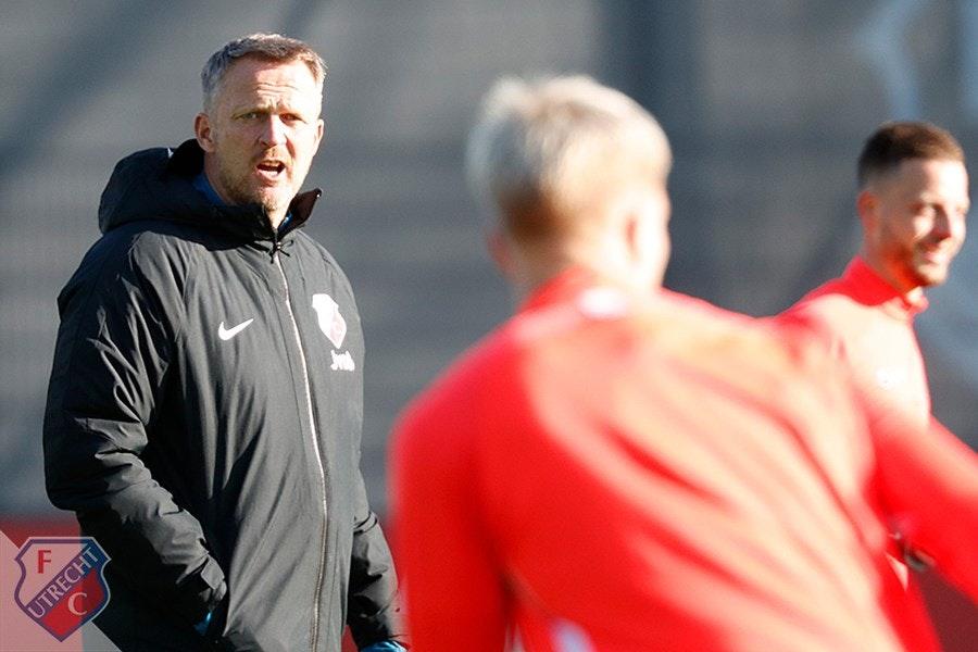Van den Brom ziet ook tegen ongenaakbaar Ajax kansen voor FC Utrecht