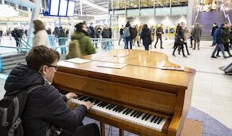 Er kan weer muziek gemaakt worden op station Utrecht Centraal