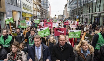Duizenden anti-abortusdemonstranten in Utrecht