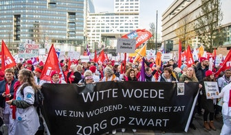 Grote staking ziekenhuispersoneel in Utrecht: 'Wij zijn goud waard'