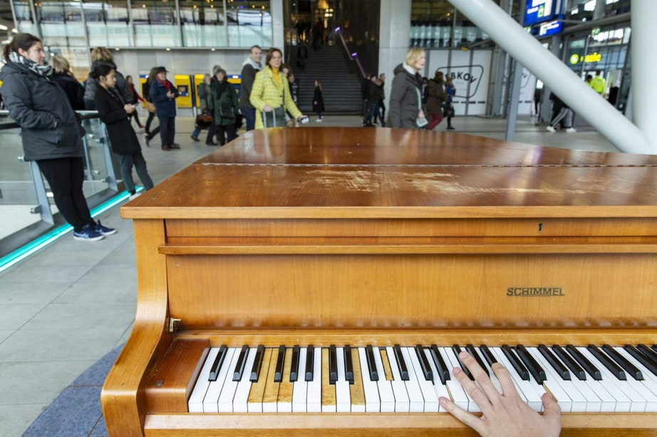 Populaire piano Utrecht Centraal wéér vernield