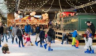 Schaatsen en curling in het Spoorwegmuseum
