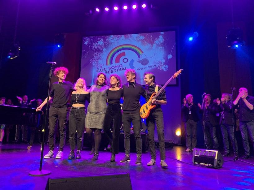 Utrechtse wint COC Songfestival 2019