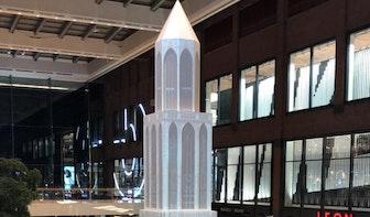 Domtoren van 18 meter in Hoog Catharijne