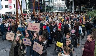75 scholen in Utrecht dicht tijdens onderwijsstaking