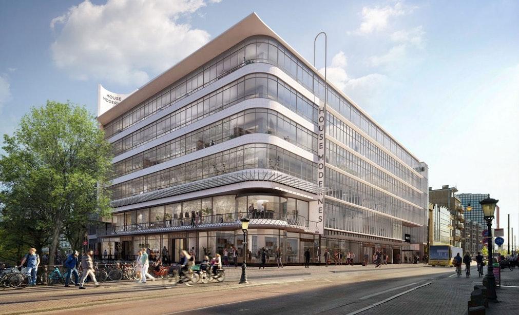 Zeven verdiepingen aan flexwerkplekken in voormalig winkelcomplex 'De Blauwe Planeet'