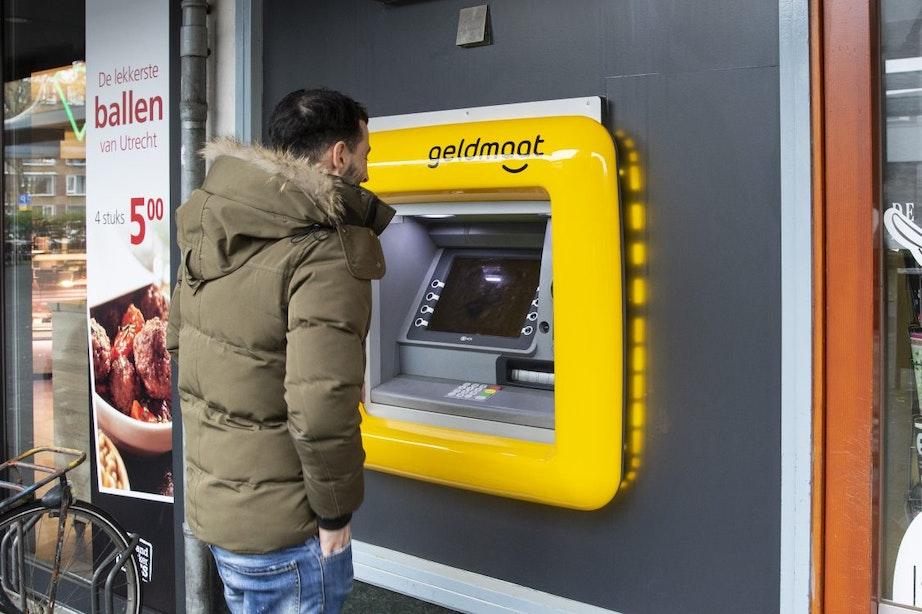 Steeds meer gele geldautomaten in Utrecht