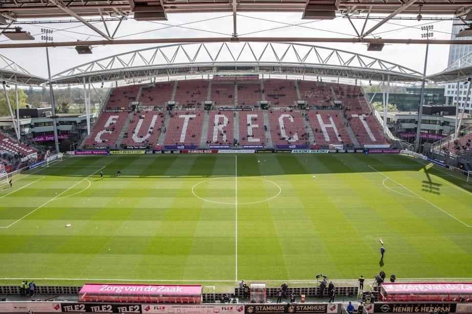 Stadionverbod voor FC Utrecht-supporter na video vanachter FOX Sports-desk