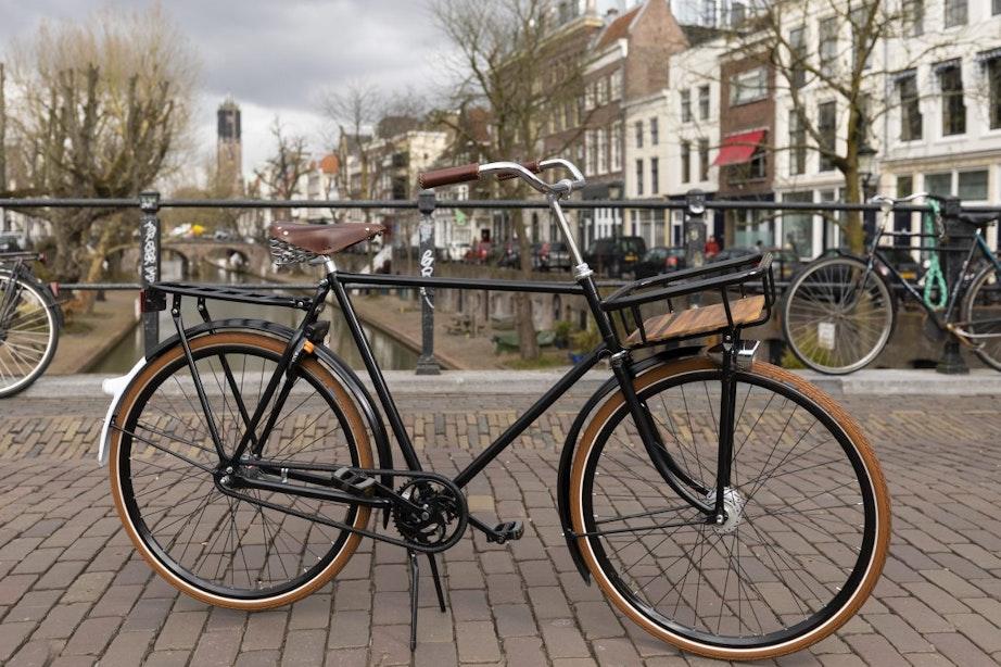 Klassieke Gazelle van Juri Hiensch opnieuw gestolen in Utrecht; 'Ik denk dat 'ie nu écht weg is'