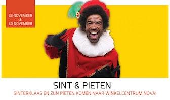 Winkelcentrum NOVA viert Sinterklaas!