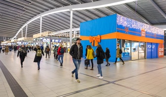 Pakketjes Coolblue tijdelijk af te halen op station Utrecht Centraal