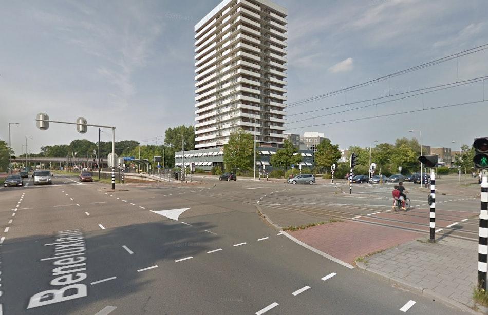 'Admiraal Helfrichlaan – Beneluxlaan is gevaarlijkste kruispunt van de stad'