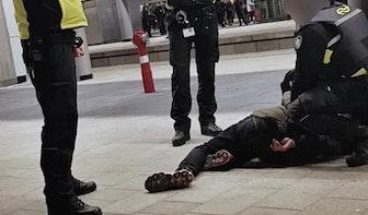 Treinconducteur op Utrecht Centraal krijgt klap van dronken man