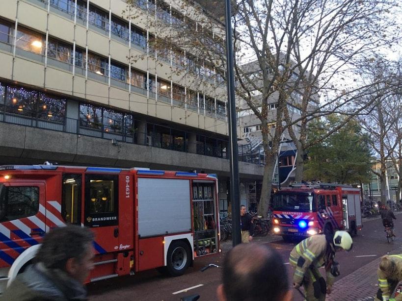 Brand in gebouw aan het Moreelsepark onder controle