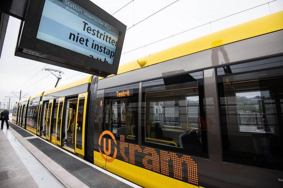 Tramverkeer weer hervat na storing op Uithoflijn