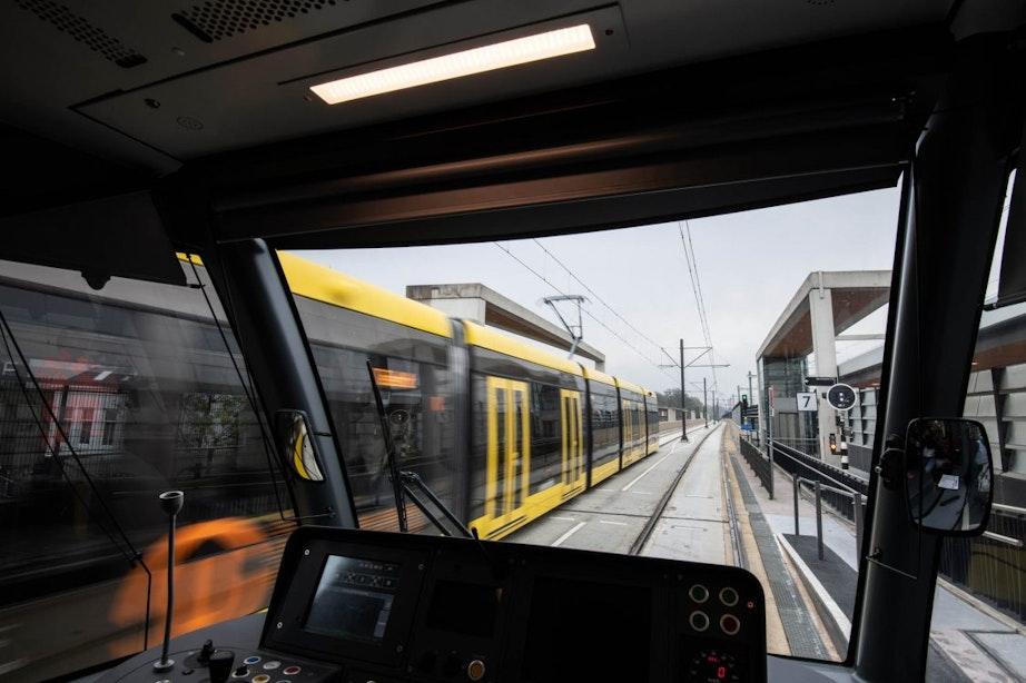 Komend weekend herstelwerkzaamheden aan asfaltlaag trambaan Uithoflijn