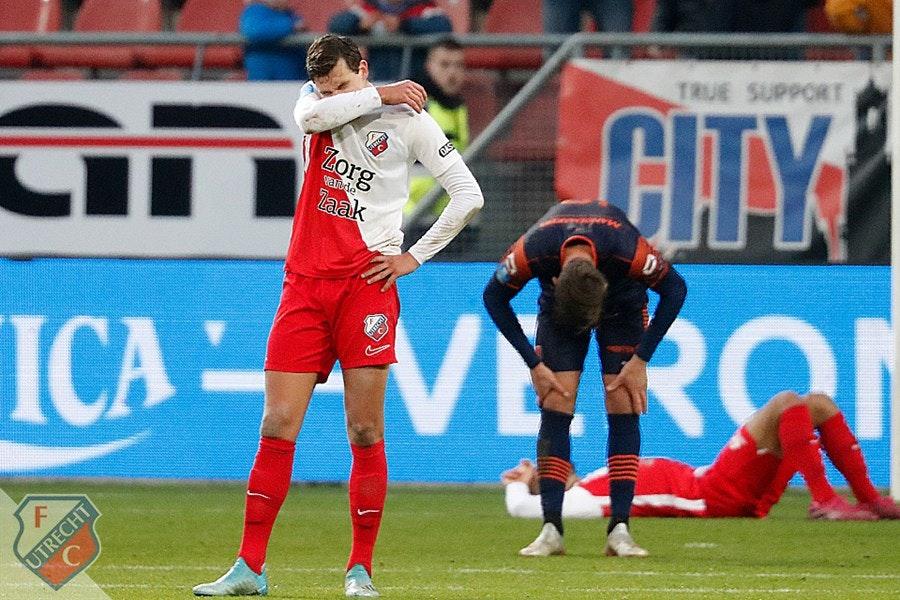 Lamlendig FC Utrecht verliest ook van hekkensluiter RKC Waalwijk