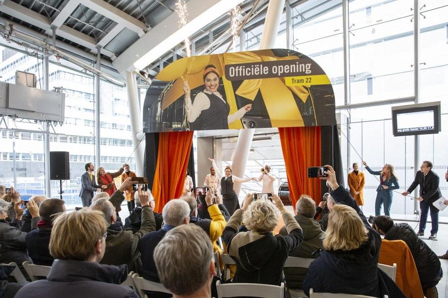 Feestelijke opening Uithoflijn op station Utrecht Centraal