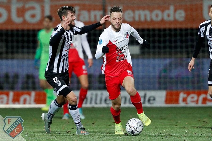 FC Utrecht wint ook bij directe concurrent Heracles Almelo