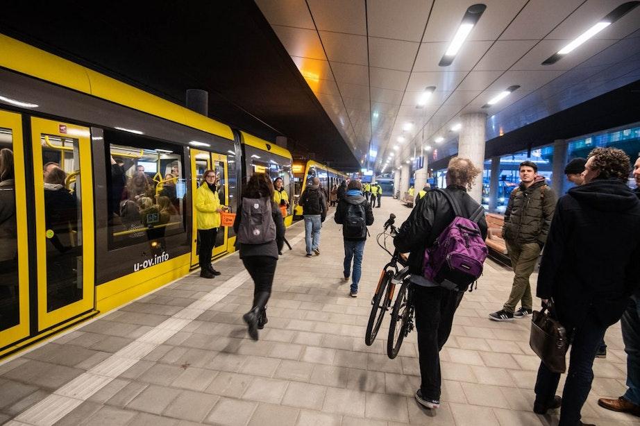 Uithoflijn rijdt voorlopig niet meer door daling reizigers