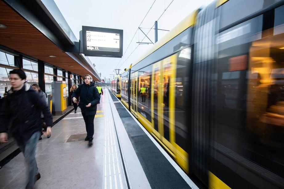 Uithoflijn rijdt voor tweede dag op rij niet vanwege storingen