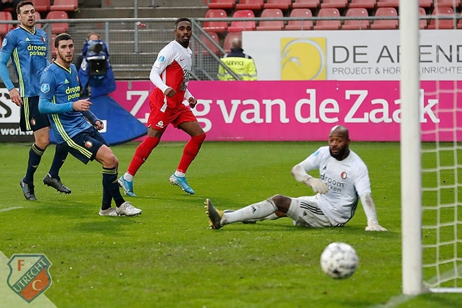 FC Utrecht sluit 2019 in mineur af
