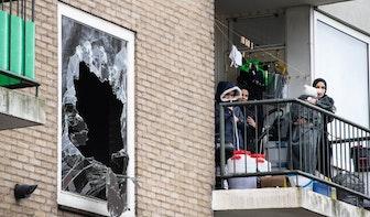 Uitslaande brand op de Marshalllaan in Utrecht: vijf mensen uit woning gehaald