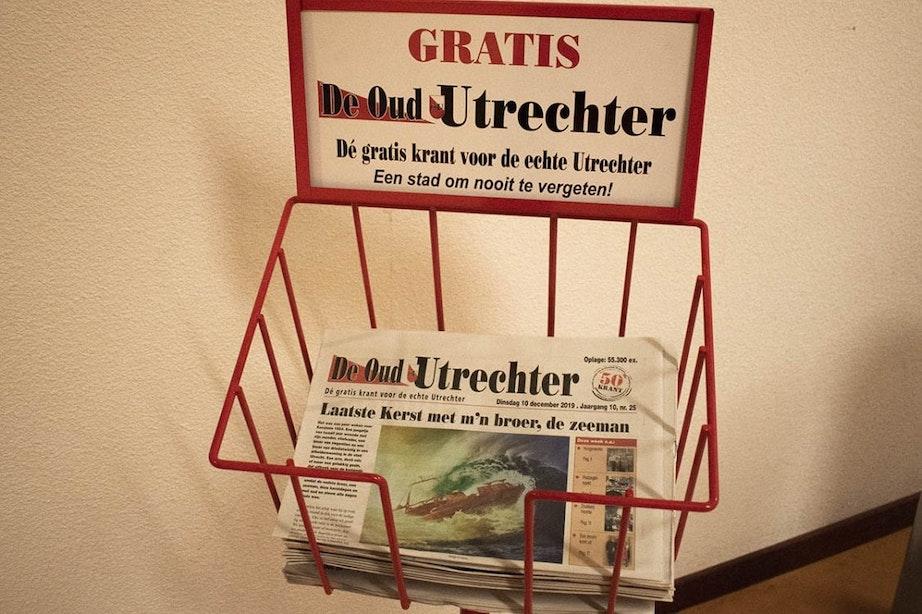 Gratis krant De Oud-Utrechter stopt na negen jaar