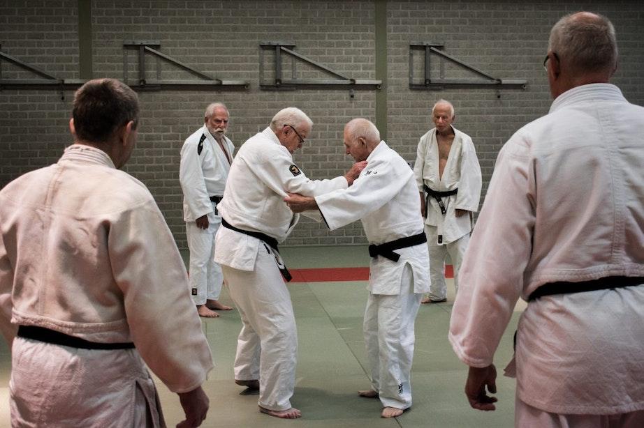 Judoveteraan Joop Mackaay ging met Anton Geesink de wereld over