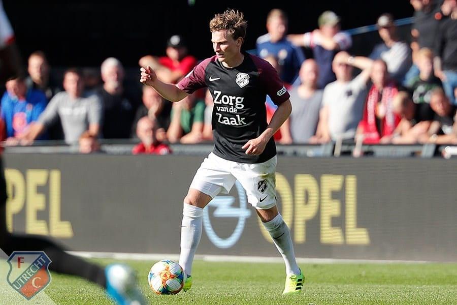 Rico Strieder verruilt FC Utrecht op huurbasis voor PEC Zwolle