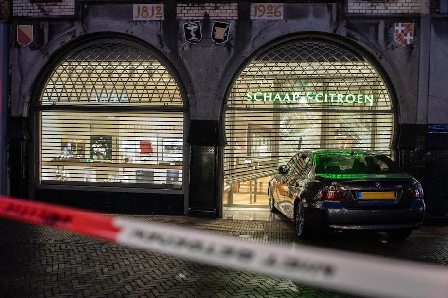 Ramkraak op juwelier in centrum van Utrecht