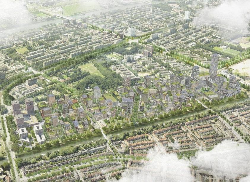 Een rondje om de nieuwe stadswijk Merwede: Ruimte voor 12.000 inwoners in een autovrije wijk