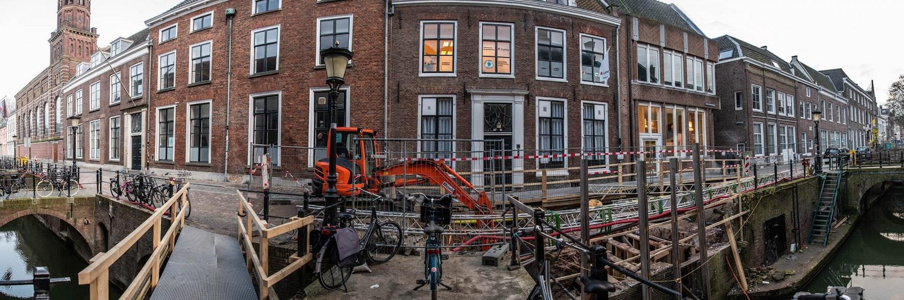 Nieuwegracht en Kromme Nieuwegracht gaan weer open na herstelwerkzaamheden