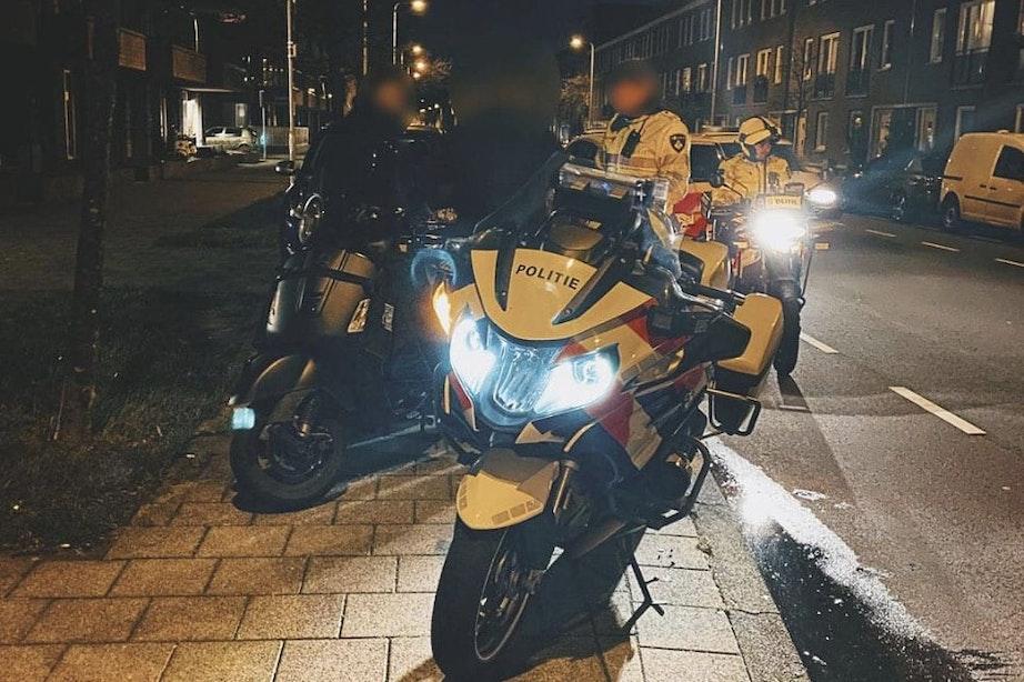 Motorrijder rijdt bijna 100 kilometer per uur door binnenstad Utrecht