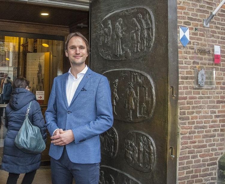 31-jarige Willem Roskam wordt de nieuwe predikant van de Domkerk