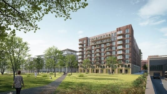 Bouw 178 sociale huurwoningen in Leidsche Rijn Centrum start dit jaar
