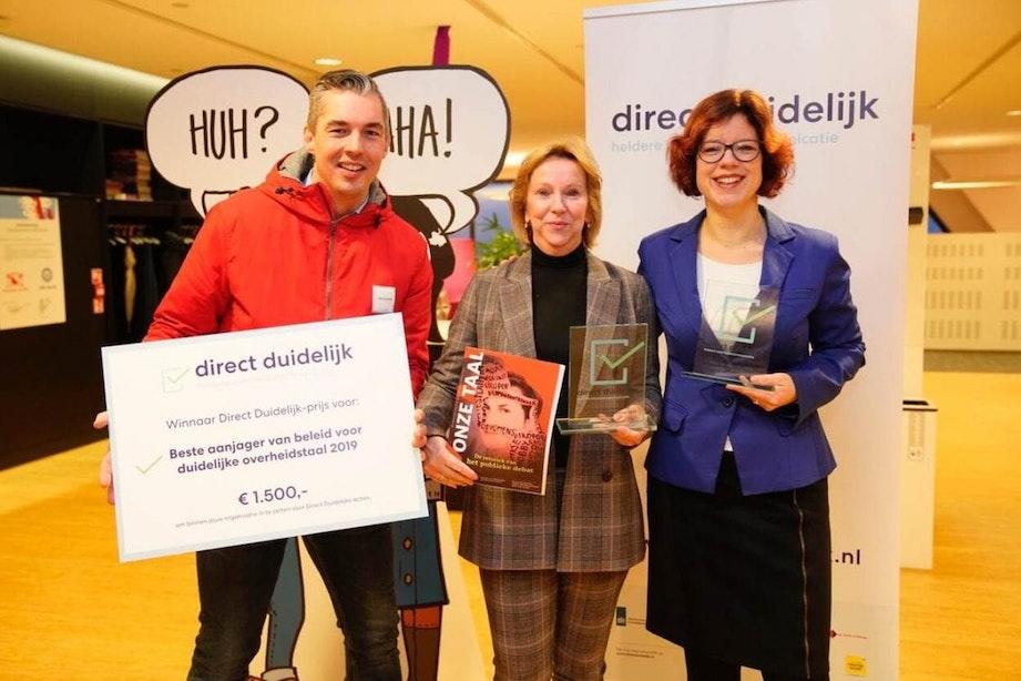 Gemeente Utrecht wint prijs voor heldere overheidstaal