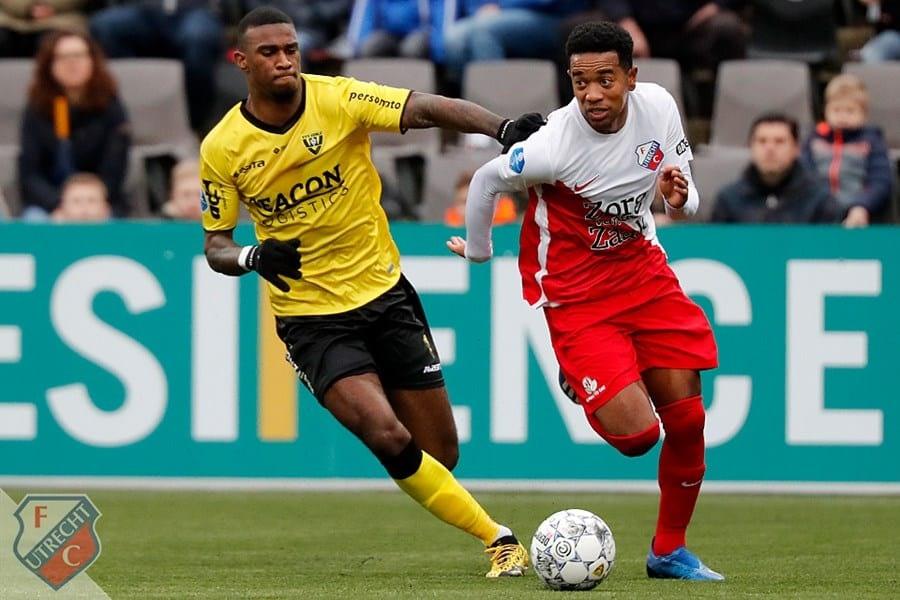 Pover FC Utrecht neemt puntje mee uit Venlo