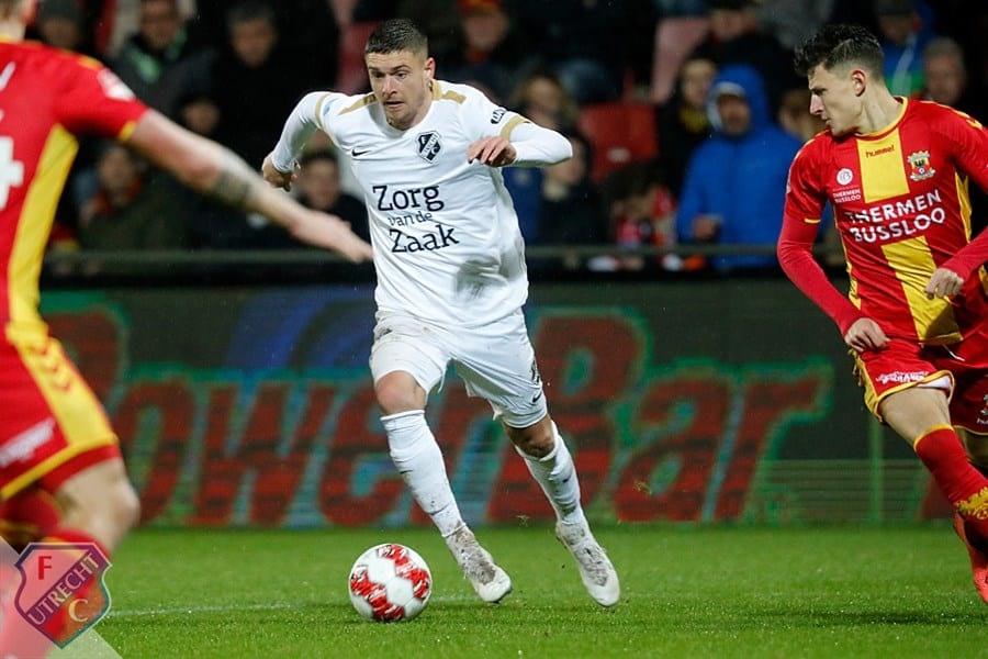 FC Utrecht overtuigend naar halve finales KNVB Beker