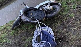 Koperdief gewond na aanrijding met politieauto De Meern
