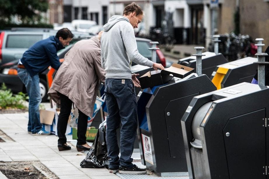 Blijven Utrechters in de toekomst al hun afval scheiden? Gemeente weet het nog niet
