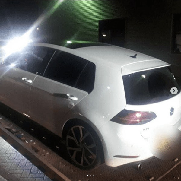 Automobilist probeert met 200 km/h aan de politie te ontkomen