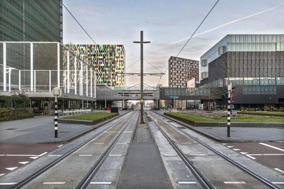 Opnieuw noodreparaties aan tram- en busbaan op Utrecht Science Park